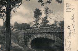 Cobble Stone Bridge, Highland Park, East New York