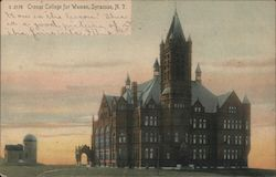 Crouse College for Women Postcard