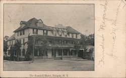 The Randall Hotel Postcard