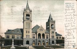 City Hall and Market House Postcard