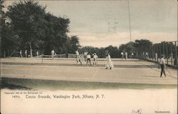 Tennis Grounds Washington Park