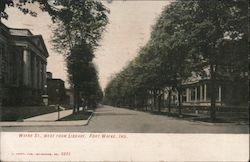 Main St. West from Library