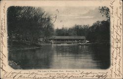 The Lake in Prospect Park