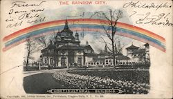Horticultural Building, The Rainbow City Postcard
