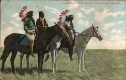 Pocono Indians on # 101 Ranche Postcard