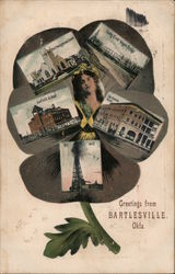 Greetings from Bartlesville, OK Postcard