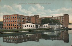 Stevens Duryea Automobile Factory Postcard