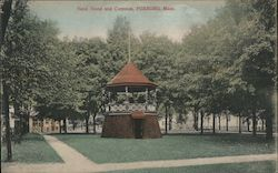 Band Stand and Common Postcard