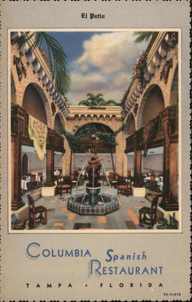 El Patio, Columbia Spanish Restaurant Tampa Florida