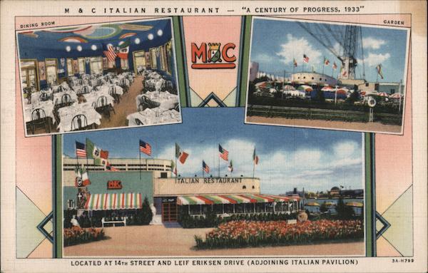 M & C Italian Restaurant Chicago Illinois