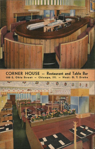 Corner House Restaurant and Table Bar Chicago Illinois