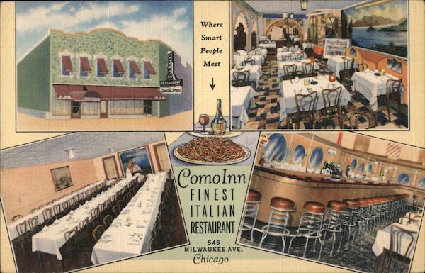 ComoInn Finest Italian Restaurant Where Smart People Meet Chicago Illinois