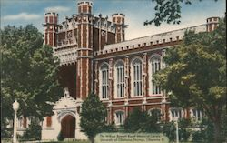 William Bennett Bizzell Library Postcard