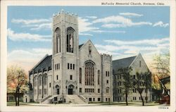 McFarlin Memorial Church Postcard