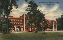 New North Hall, Stephen's College Postcard