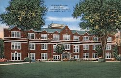 Administration Building, Stephens College Postcard