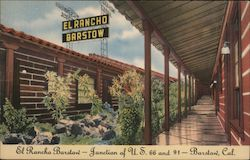 El Ranco Barstow Postcard
