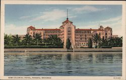 New Colonial Hotel Postcard