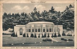 The White Drum - Mohawk Trail, Route 2 Postcard
