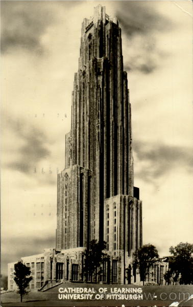 Cathedral Of Learning , University of Pittsburgh Pennsylvania
