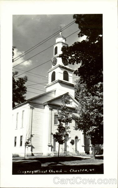 Congregational Church Chester Vermont