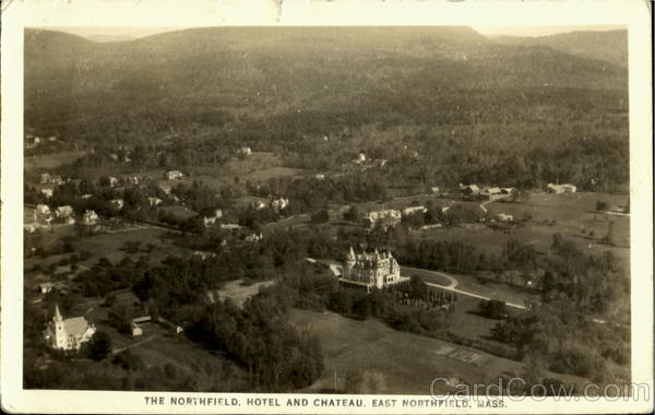 The Northfield Hotel And Chateau East Northfield Massachusetts