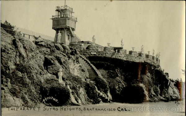 The Parapet Sutro Heights San Francisco California