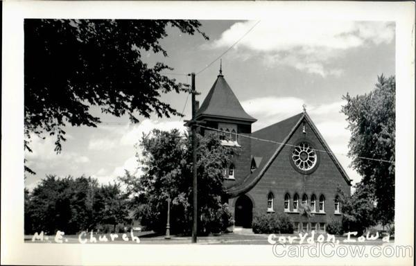 M. E. Church Corydon Iowa