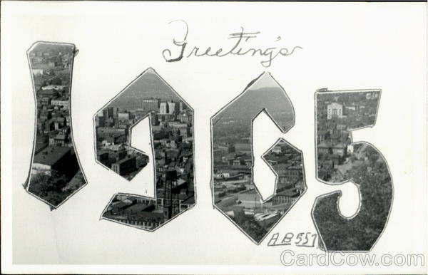 Greetings 1965 Large Letter