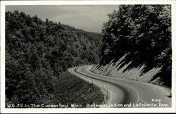 U. S. 25 In The Cumberland Mountains