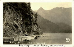 Hiway Around Lake Crescent