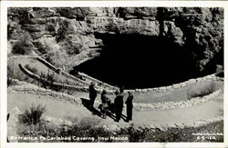 Entrance To Carlsbad Caverns