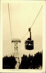 A Thrilling Ride To The Summit Postcard