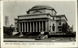 Seth Low Memorial Library, Columbia University