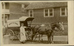 Meat & Fish Delivery Wagon C. A. Lizotte