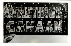 Greetings From Canaan Postcard