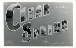 Greetings From Clear Spring