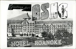 Greetings From A.S.H.C. Hotel Roanoke