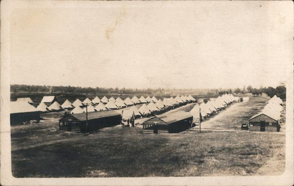 Military Camp with Tents