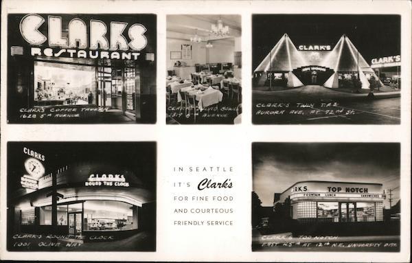 Clarks Restaurants Seattle Washington