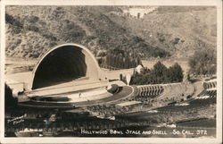 Hollywood Bowl Stage and Shell So Cal
