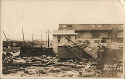 Hurricane of 1916, M&O Railroad Pier 7 & 8