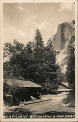 Camp Curry Bungalows Half Dome
