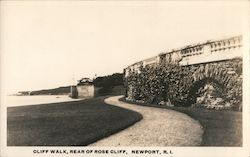 Cliff Walk, Rear of Rose Cliff