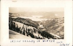 Indian Valley in Winter
