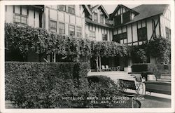 Hotel Del Mar's Vine Covered Porch Postcard