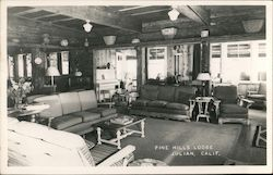 Pine Hills Lodge Postcard