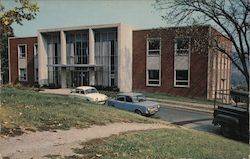 Library, Potomac State College of West Virginia University Postcard