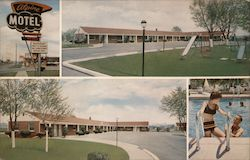 Alpine Motel 26131 Michigan Ave Postcard