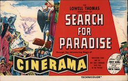 Search for Paradise - Missouri Theatre, Cinerama Postcard
